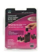 NCR Universal Black Inkjet Cartridge Refill Kit w/80ml Black Ink BRAND NEW!