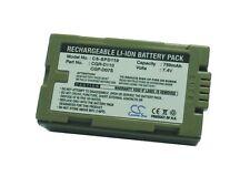 7.4 V Batteria per PANASONIC CGR-D120A / 1B, nv-ds55, PV-DV100, PV-DV600, nv-ds12b