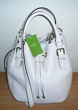 NWT Kate Spade Sandy Cobble Hill Pebble Leather Bucket Bag Shoulder Handbag $398