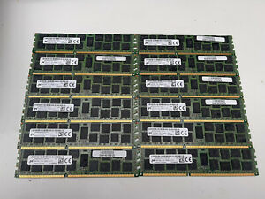12 x 16Gb PC3L-12800R Server Registered Memory RAM