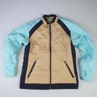 O'Neill Ski Jacket Size S Brown Blue Womens Ladies Waterproof Winter Coat