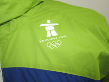 Vancouver Olympics 2010 Official Windbreaker Jacket Polyester Mens Size M