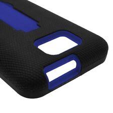 Blue Black Hybrid for BLU Vivo 4.3 - High Quality Armor Phone Cover Case