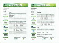SV BLERICK TOERNOOI 2017  Incl FULHAM Bor MONCHENGLADBACH  and others