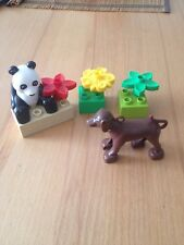 LEGO Duplo Pandabär Bausteine  Top