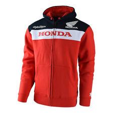 Sweatshirt Honda Zipup Fleece Mit Abzugshaube 73051543 Messen S Rot