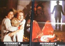 POLTERGEIST II 2 - The Other Side - Lobby Cards Set - Heather O'Rourke - HORROR