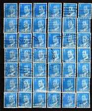 España : 1977 ( Edifil 2393 ) Lote 42 sellos 8 Pesetas JUAN CARLOS I ( usados )