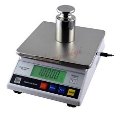 7.5kg x 0.1g Durable Electronic Precision Laboratory Scale Balance w Counting
