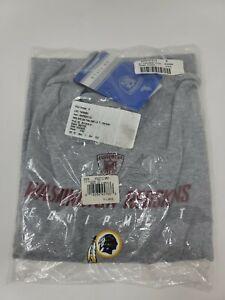 Washington Redskins NFL Team Equipment T Shirt XL gray Short Sleeve Reebok