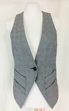 Ben Sherman Houndstooth Check Fancy Vest. Women's. Small. Perfect.