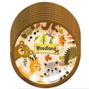 Forest Animal Theme Party Set Kid Birthday Party Supplies Decoration Tableware c