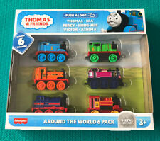 Thomas & Friends Around the World 6 Pack Fisher-price, Die-Cast Figure Set- NEW