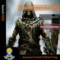 Assassin Creed IV Black Flag (Switch Mod)- Max Money/Resources