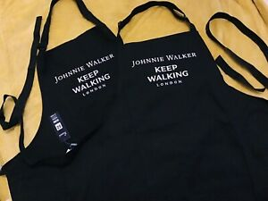 Premier Unisex Limited Edition Black Johnnie Walker London Aprons