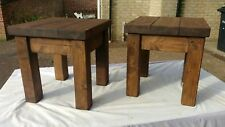 2 side coffee tables​ /lamp tables in oak stain