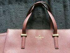 Genuine Real Leather Kate Spade New York Bag Handback Large Shoulder Burgundy