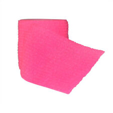 "5 Rolls Fluorescent Non-woven Cohesive Bandage Self-Adherent Sports 2""x5 yards"