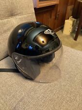 VEGA VISTA XPV Black Motorcycle Helmet Size Medium