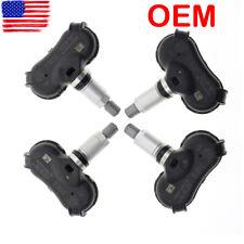 4pcs OEM Tire Pressure Sensor TPMS Set For Honda CR-Z Insight Odyssey Element