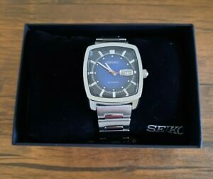 Seiko Recraft Blue Men's Watch Automatic 39.5 mm - SNKP23 - Stainless Steel
