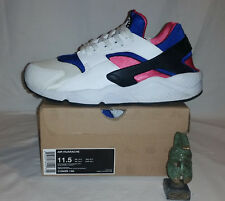 Nike Air Huarache Run OG QS White Game Royal Dynamic Pink