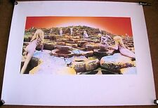 """LED ZEPPELIN SUPERB ARTWORK PRINT OF THE ALBUM COVER TO """"HOUSE OF THE HOLY"""" 1973"""