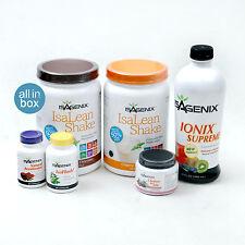 Isagenix Healthy Maintenance Program Pak: Shake Cleanse Accelerate Flush Ionix!