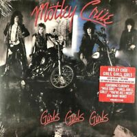Motley Crue - Girls Girls Girls [Latest Pressing] Sealed LP Vinyl Record Album