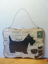 New Magnetic Board With Magnets Scottie Dog Postcard