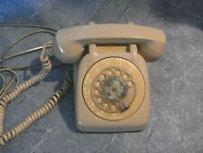 VTG OLD Beige Bell Western Electric Rotary Desk Telephone Phone Tested Works TAN