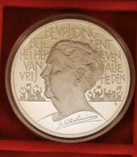 """Niederlande: 25 ECU """"Königin Wilhelmina"""" 1995  925 Silber"""