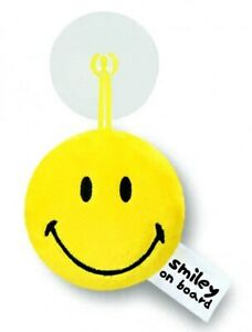 Nici 39293 Smiley With Suction Cup Plush Yellow - Various Slogans
