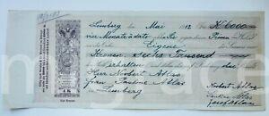 AUSTRO-HUNGARY bill of credit Weksel 4 krone  - 6000 Kronen Lemberg 1912