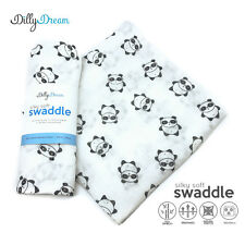 Panda SilkySoft Swaddle Bamboo Blankets - ON 30% SALE