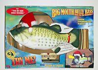 NIB Big Mouth Billy Bass Singing Animated Night Before Christmas 1999 Vintage
