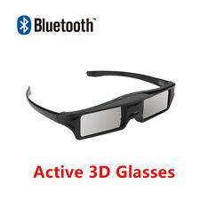 3D Active Shutter Glasses Googles for Samsung/ Sony/ TCL/ Sharp TV via Bluetooth