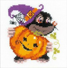 RIOLIS  HB173  HAPPY HALLOWEEN  Kit  Broderie  Point de croix  Compté