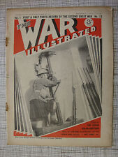 The War Illustrated # 13 (Poland, Athenia, Mines, Maginot Line, Emil Hacha, WW2)