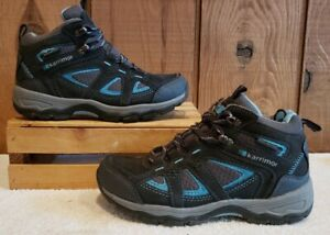 Karrimor Mens Mount Mid Walking Boots Shoes Breathable Lace Up Hiking Trekking