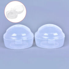 2Pcs New Baby Infant Soother Holder Pacifier Dummy Box Travel Storage Case Gi WY