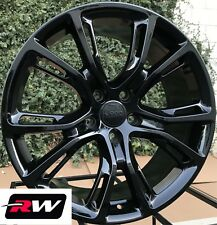 "22"" inch RW Wheels for Jeep Grand Cherokee Gloss Black Rims SRT8 Spider Monkey"