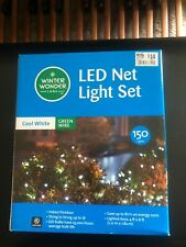 Led Net Light Set 150 Cool White bulbs(420)