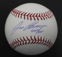 Jose Canseco A's Inscribed 40/40 Autographed Signed MLB Baseball JSA COA G