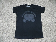 Lucky Brand T-shirt 18-24 Months Black British Invasion Unisex