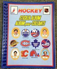 1980S VINTAGE HOCKEY STICKER ALBUM SPIRAL BOUND OFFICIAL NHLPA NHL CANADA 71917