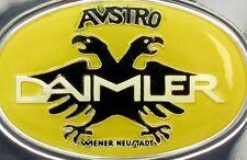 AUSTRO-DAIMLER (Austria) Automobile Emblem 0.76 oz .925 Silver Bar Franklin Mint