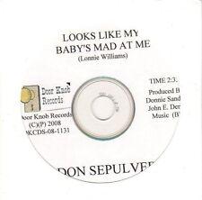 (EL68) Don Sepulveda, Looks Like My Baby's Mad At Me - 2008 DJ CD