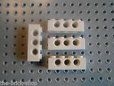 LEGO STAR WARS White technic brick 1 x 4 ref 3701 / set 6211 7191 7931 9748