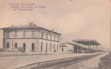 FIGLINE VALDARNO - stazione ferroviaria e Tettoia 1924